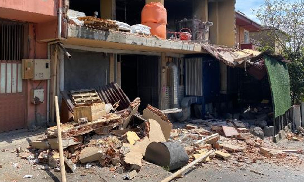 Pendik'te döküm atölyesinde patlama: 1 yaralı