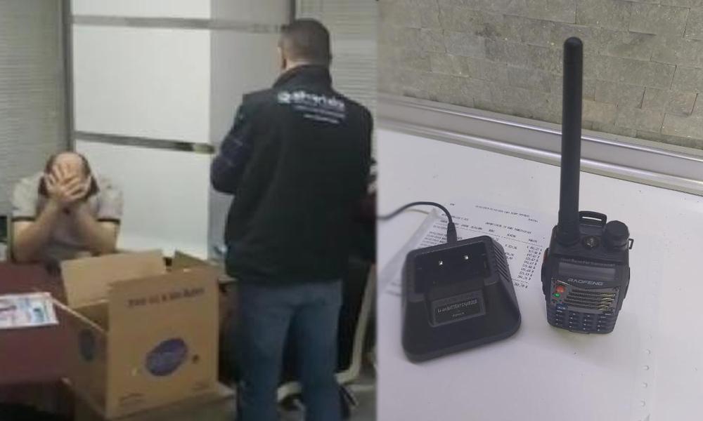 Polis telsizi dinlediler… Yakalanmaktan kaçamadılar