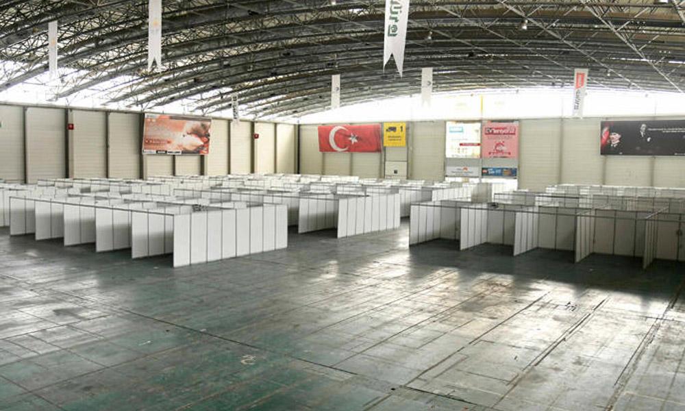 CHP'li Belediye'nin kurduğu Sahra Hastanesine inceleme başlatıldı