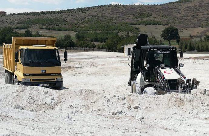 Salda Gölü'nün beyaz kumu kayıp! İş makineleri nereye götürdü?