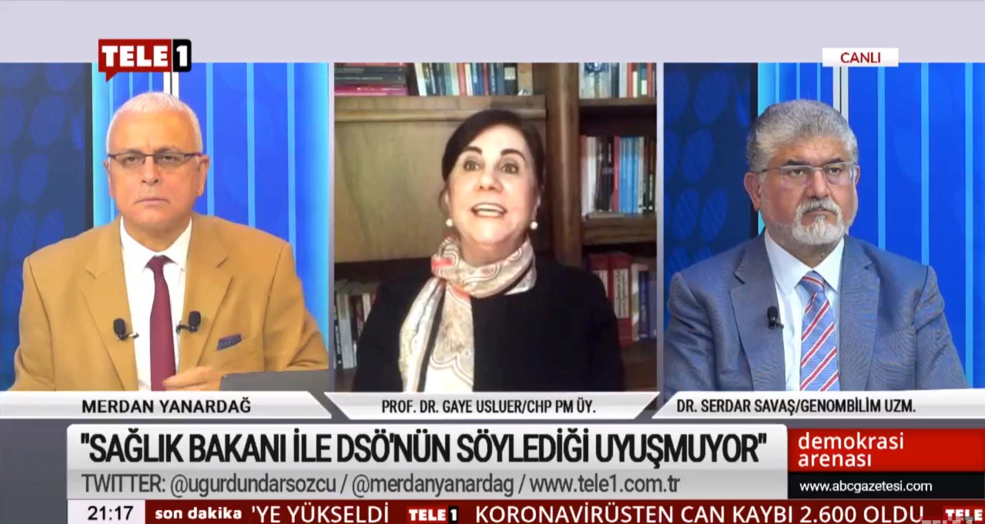 """""""Türkiye'de açıklanan rakamlar, gerçek ölüm rakamlarının kesinlikle altında!"""""""