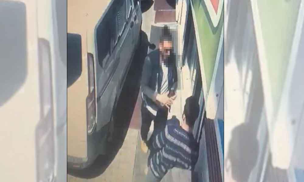 Mardin'de esnafa tokat atan polis görevden alındı