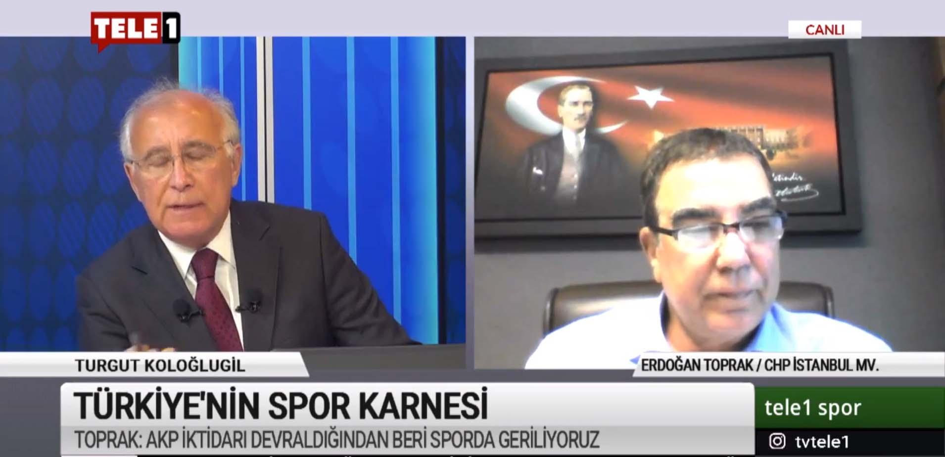 """""""Türk sporu doping ile anılıyor, AKP'nin 'akıllı' yöneticileri…"""""""