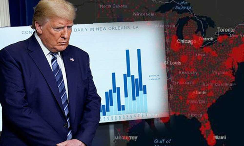 Ölü sayısı 13 bin oldu… Trump'tan itiraf gibi açıklama