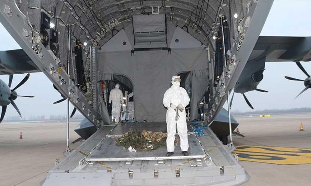 Salgınla ilgili araştırma: Uçaktaki risk tedirginlik yarattı