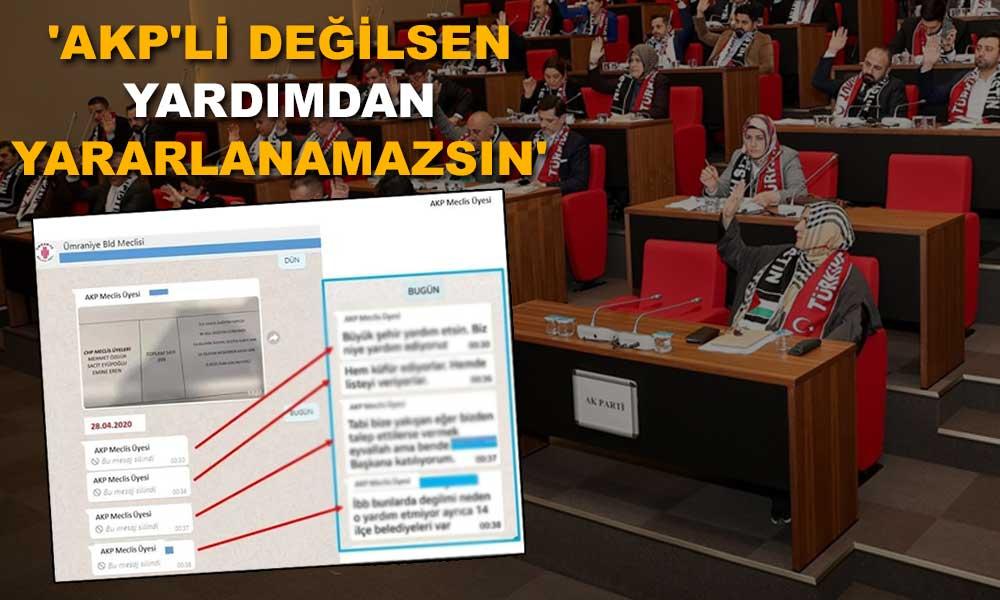 AKP'lilerin ayrımcılığı ifşa oldu
