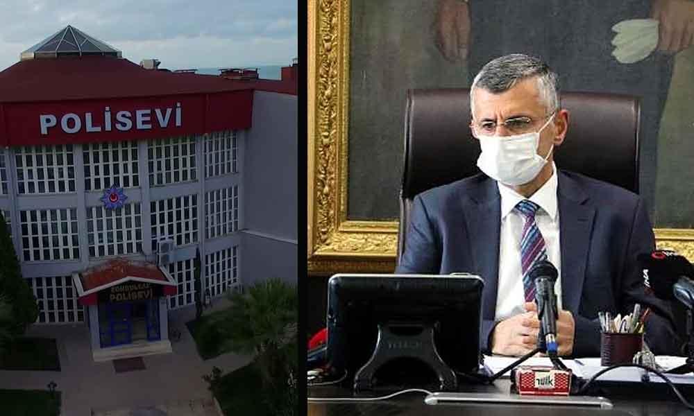 Sağlık çalışanları 'Yük olmamak' için Polisevi'nden ayrıldı! Zonguldak Valisi hala görevde