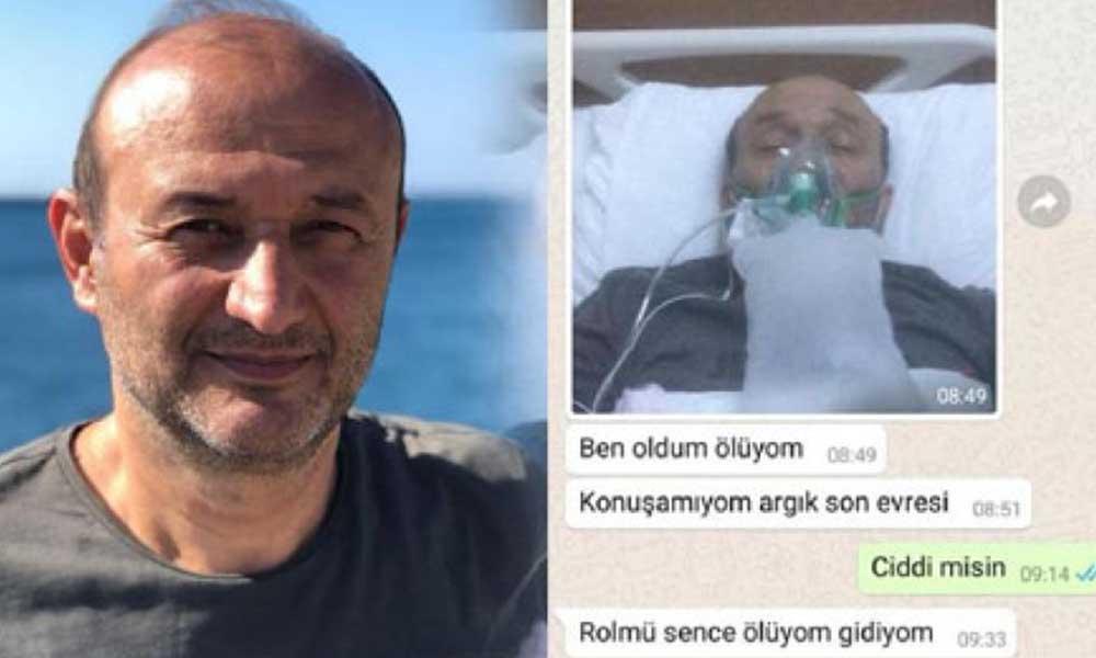 Koronavirüsten hayatını kaybeden Kemal Soytürk'ün son sözleri
