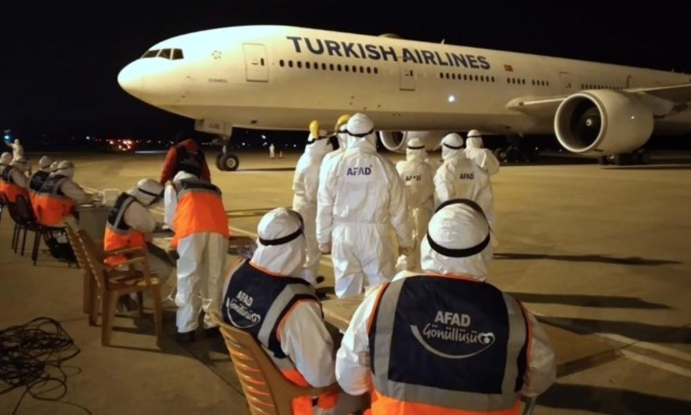 Yurt dışından getirilen vatandaşlar yurtlara yerleştiriliyor