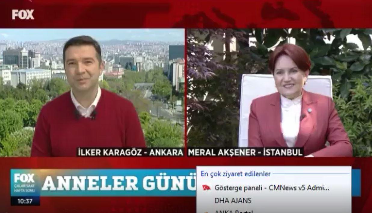 'Anneler Günü'nde Meral Akşener'i duygulandıran sürpriz