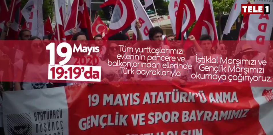 Gençlerden tüm yurda 19 Mayıs çağrısı