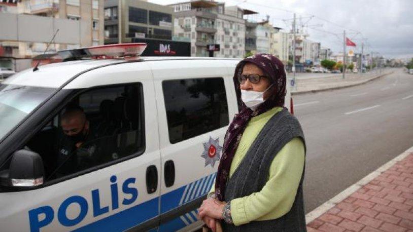 75 yaşındaki kadın evden atıldığı polis denetiminde ortaya çıktı