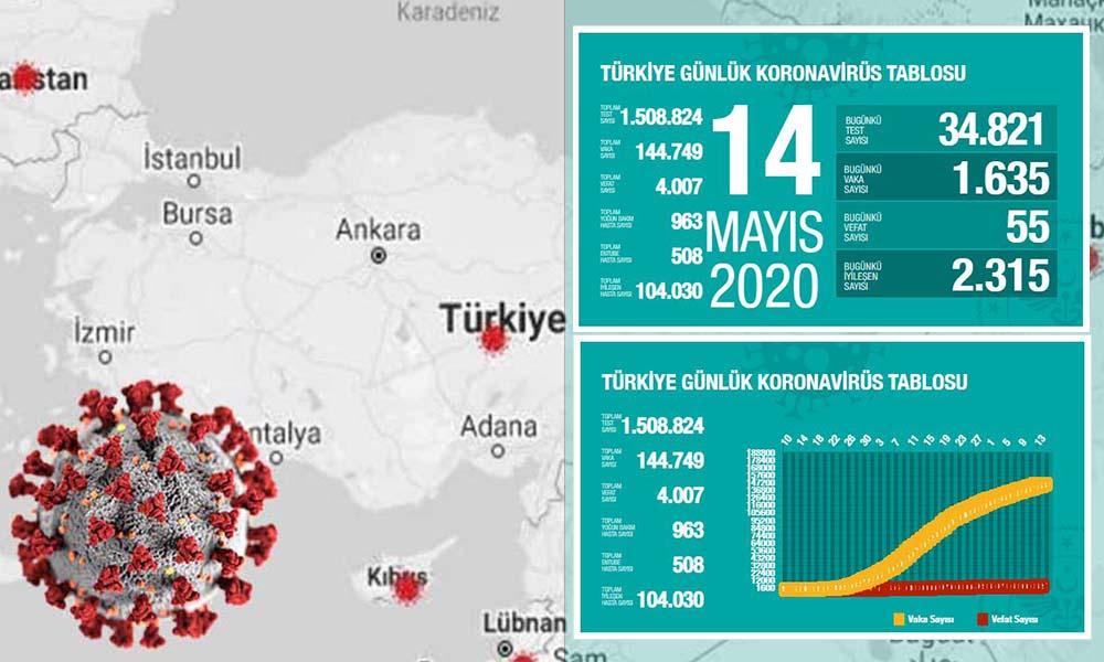 Türkiye'de koronavirüsten hayatını kaybedenlerin sayısı 4 bini aştı