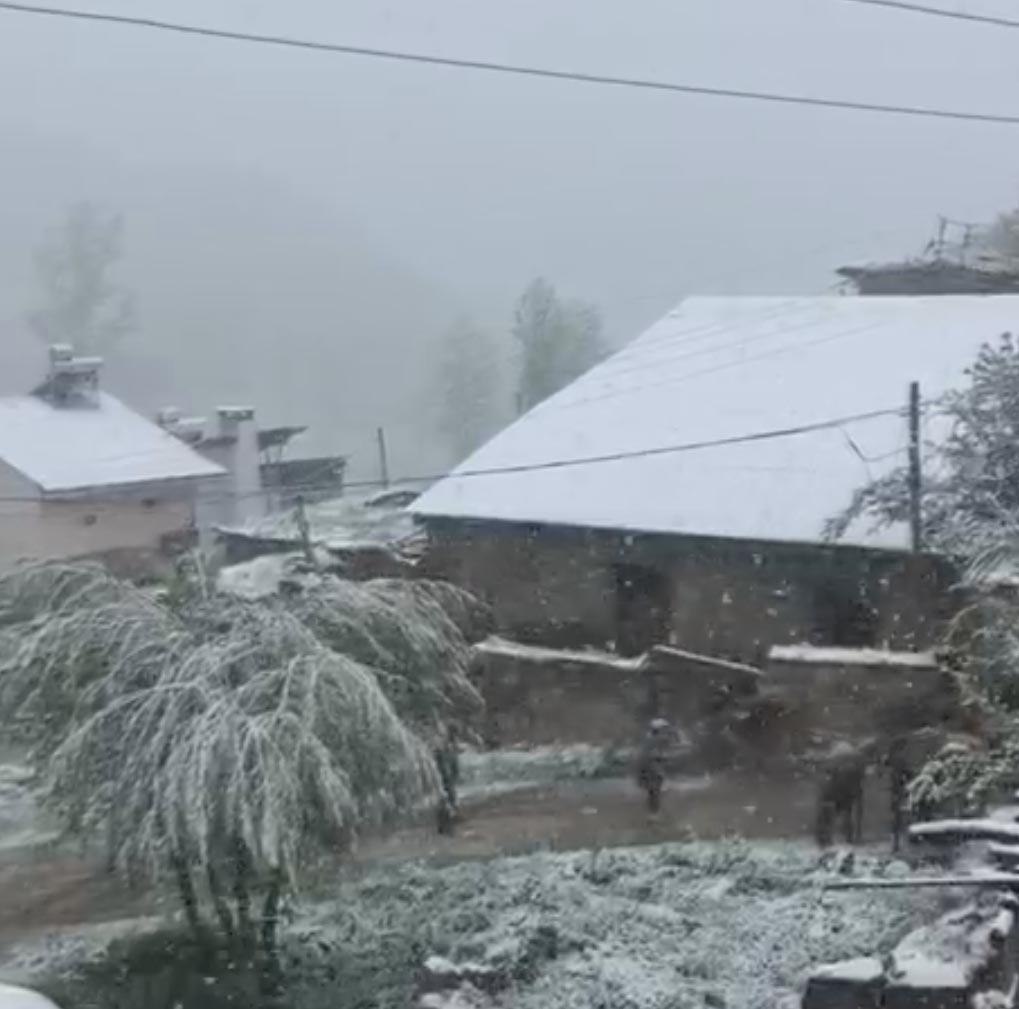 Erzincan'da kar sürprizi