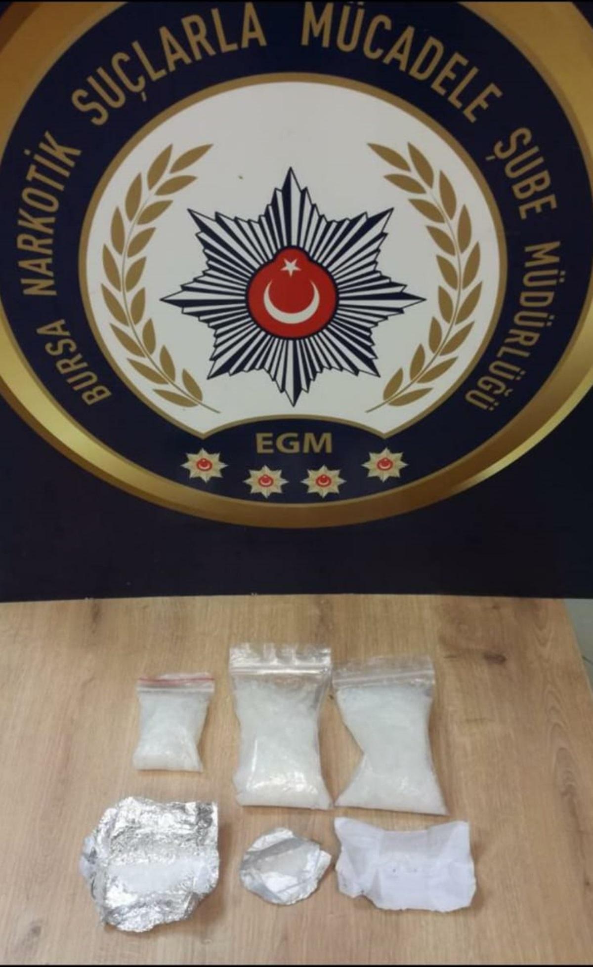 Bursa'da 'torbacı' operasyonu: 4 gözaltı