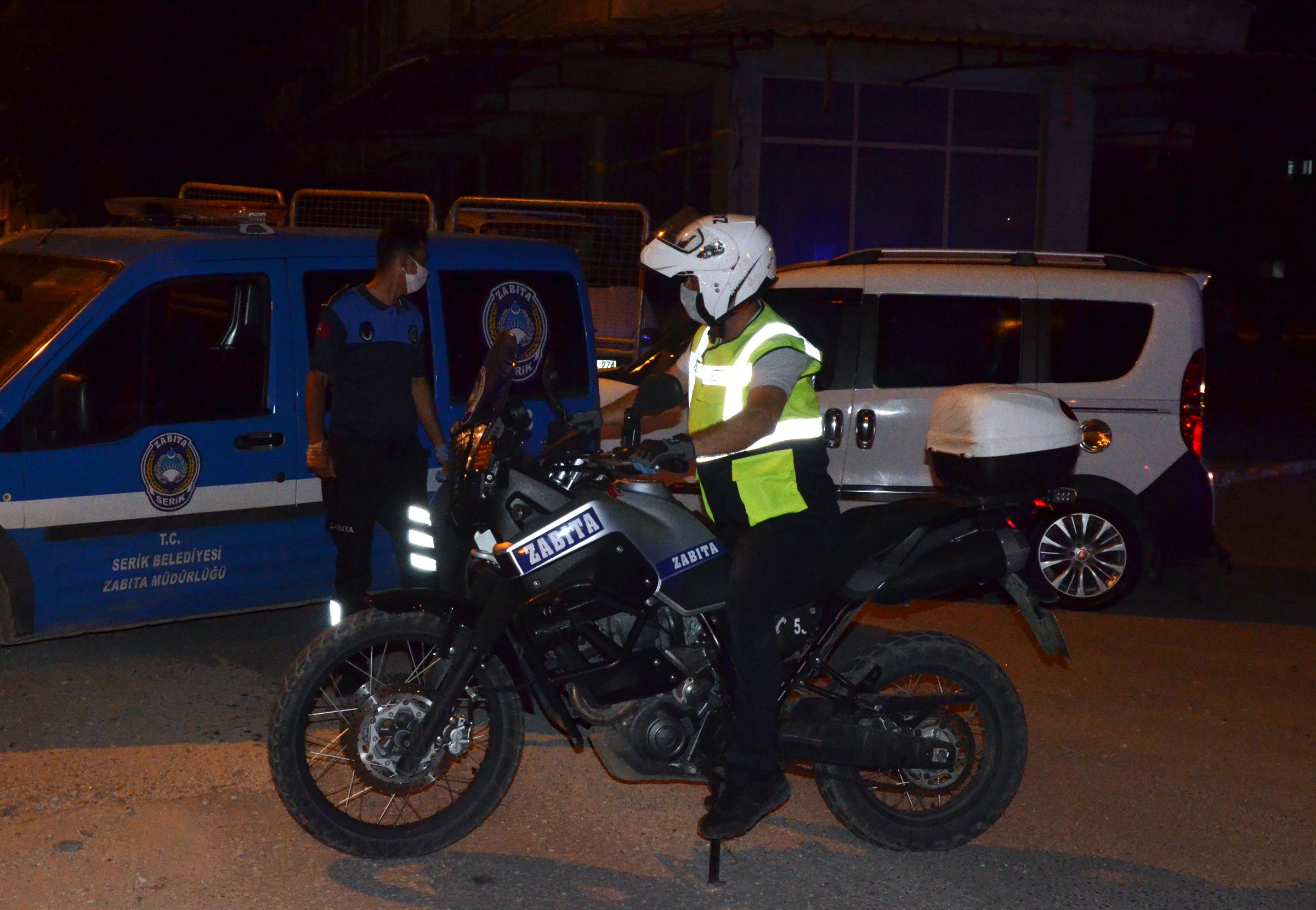 Serik'te 12 kişide koronavirüs çıktı, 15 sokak karantinaya alındı