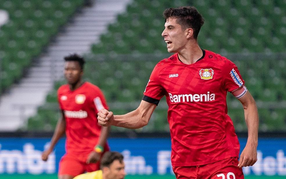 Bayer Leverkusen, Werder Bremen'i rahat geçti