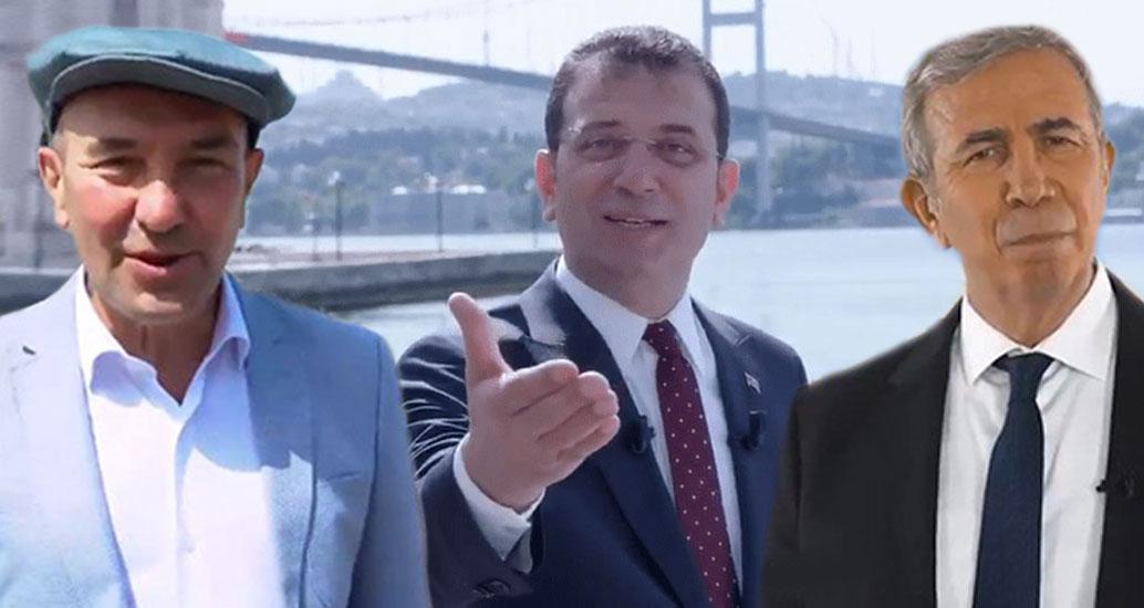 CHP'li büyükşehir belediye başkanlarından bayram mesajı: Bir tanesin Türkiyem!