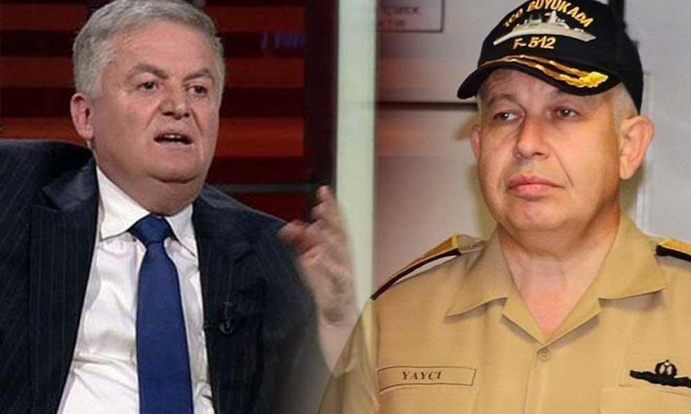 Emekli Albay Üçok'tan Tümamiral Yaycı'nın istifa süreciyle ilgili 'ihale' iddiası