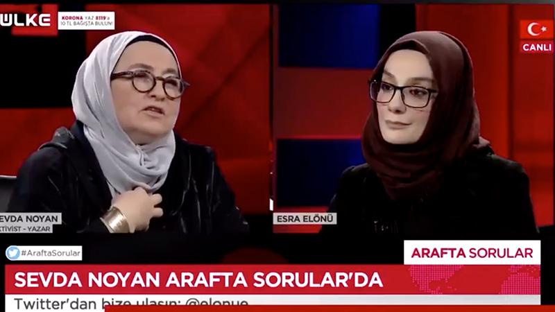 Sevda Noyan'ın ölüm tehdidine destek olan Esra Elönü'den açıklama