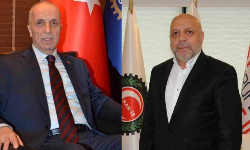 Türk-İş ve Hak-İş iktidara teşekkür etti, patronlara destek istedi!
