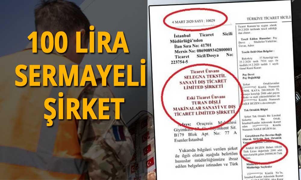 İngiltere'ye gönderilen ekipmanları AKP'li şirket üretmiş