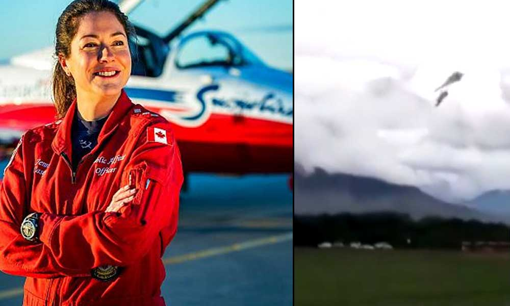 Virüse karşı moral uçuşu yapan jet yere çakıldı, pilot öldü