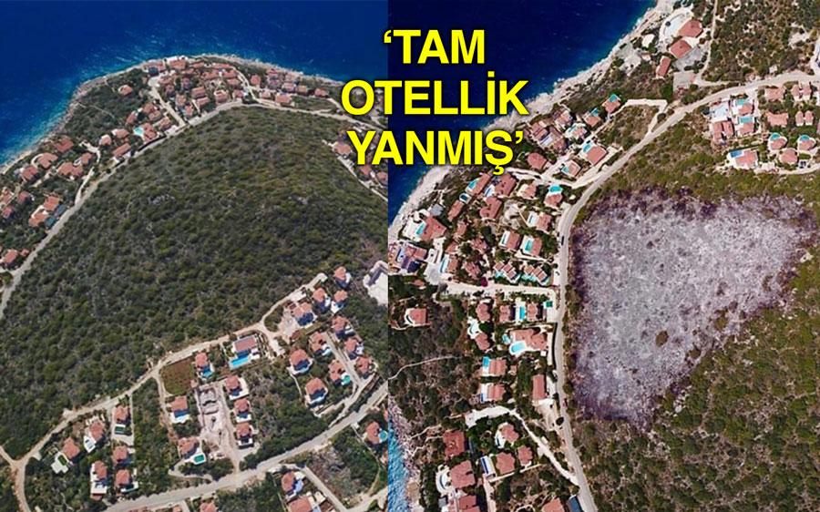 Antalya'da 'Tesadüf mü?' dedirten görüntü