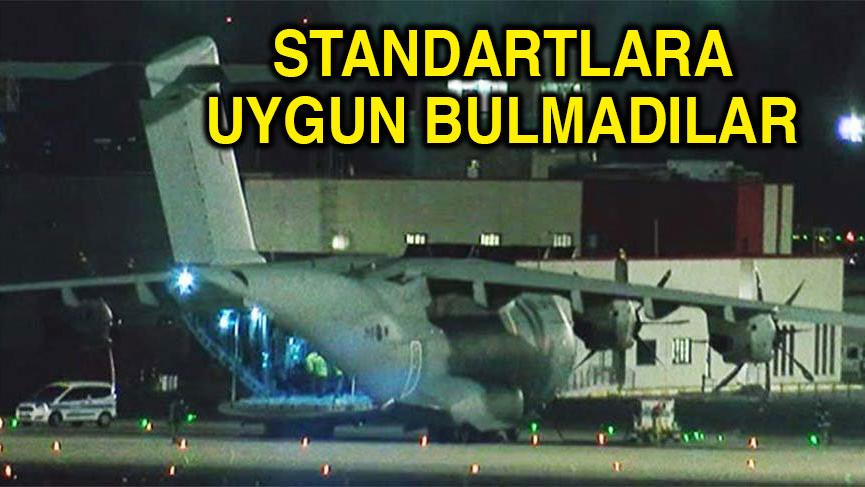 'Türkiye'den alınan 400 bin koruyucu ekipman iade edilecek'