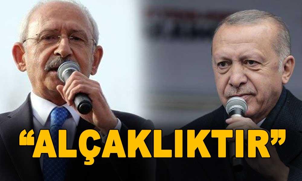 CHP'yi hedef gösteren Erdoğan'a Kılıçdaroğlu'ndan jet cevap