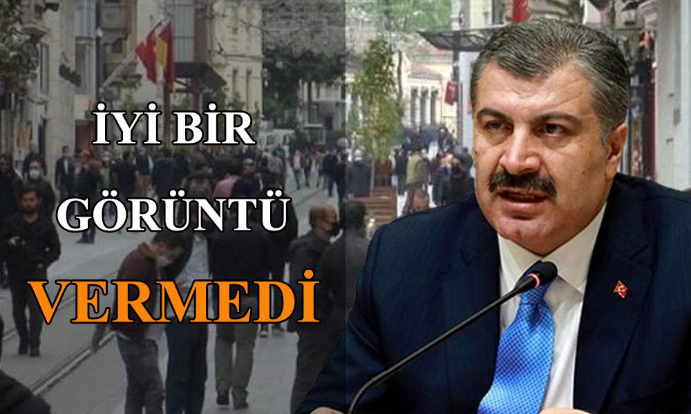 Sağlık Bakanı Fahrettin Kocayı korkutan görüntü!