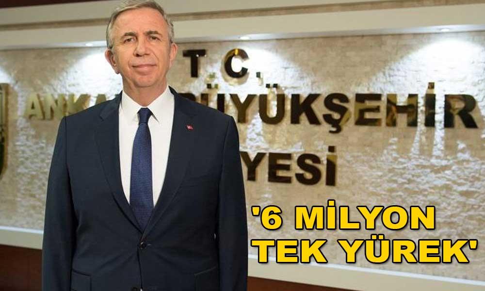 Mansur Yavaş'ın başlattığı kampanyaya destek yağdı! 6 saatte 2 milyon lira toplandı