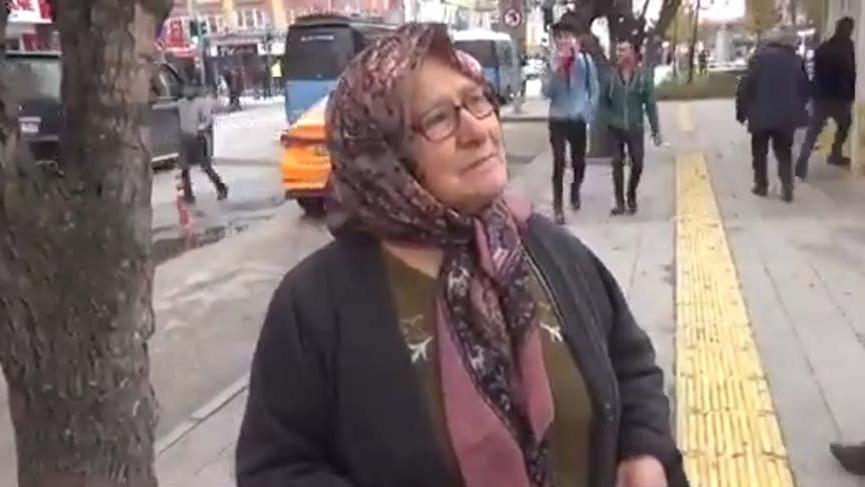 Nazmiye teyzeye Mansur Yavaş sahip çıktı!