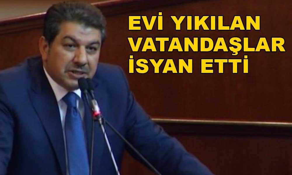 'AKP'li Tevfik Göksu'nun uğruna belediyeden vatandaş kovdurduğu müteahhit kim?'