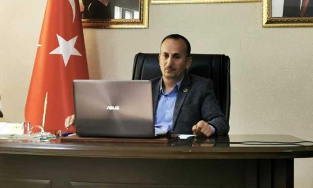 AKP'li başkanın korona testi pozitif çıktı