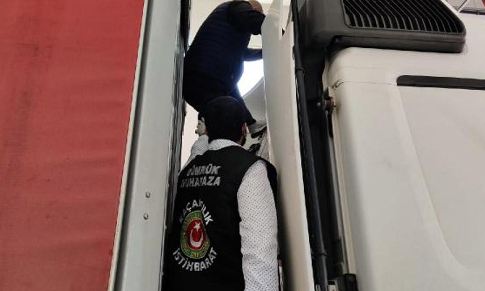 Türkiye'ye kaçak girmek isterken böyle yakalandı!