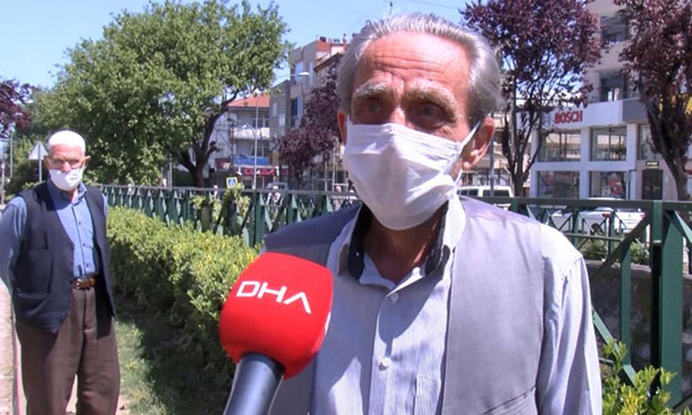 50 gün sonra sokağa çıkan vatandaş: Televizyonla konuşmaya başladım