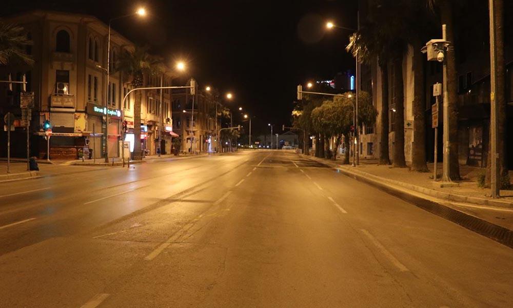 24 şehirde hafta sonu uygulanan sokağa çıkma yasağı sona erdi