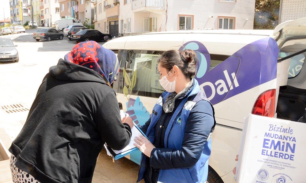 Mudanya'da koronavirüse karşı büyük mücadele