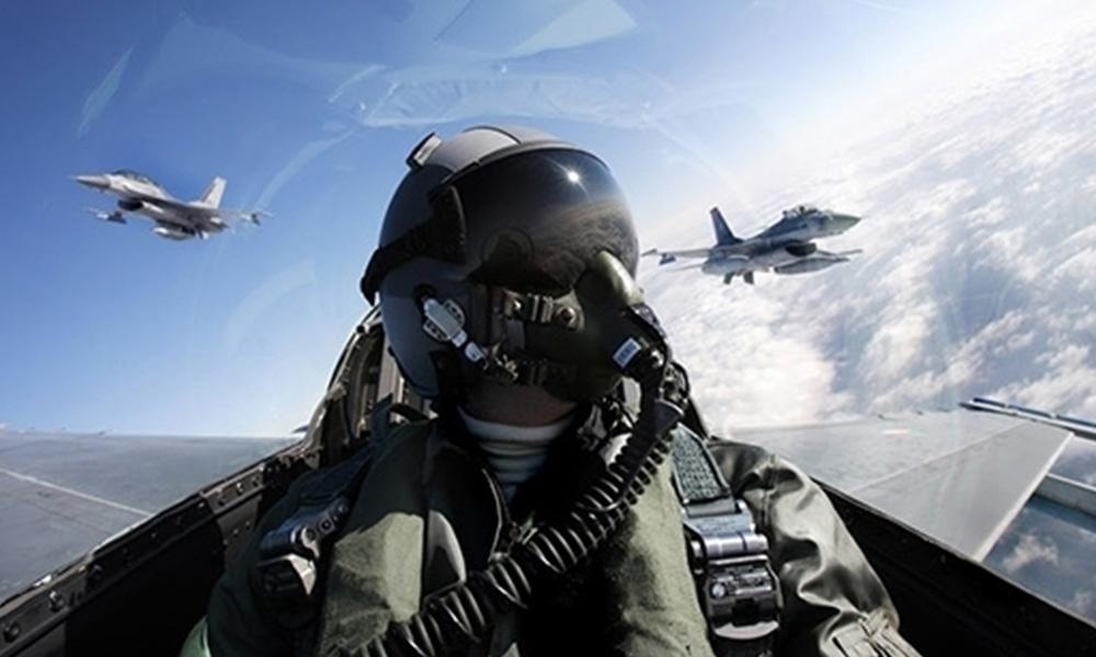 Yunan savaş uçakları Türk F-16'ları hedef aldı! Pilotların telsiz konuşmaları yayınlandı