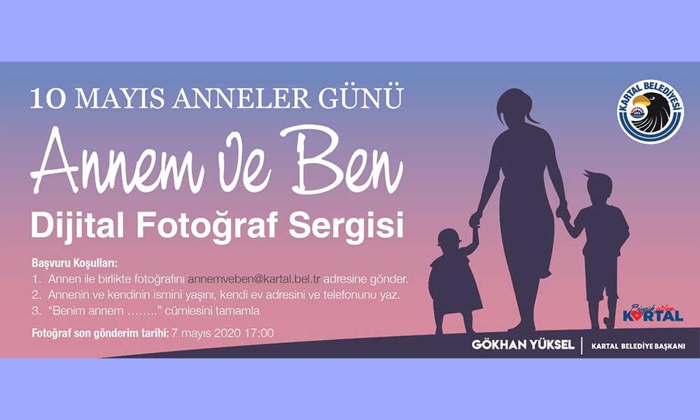 Kartal Belediyesi'nden Anneler Günü'ne özel dijital fotoğraf sergisi