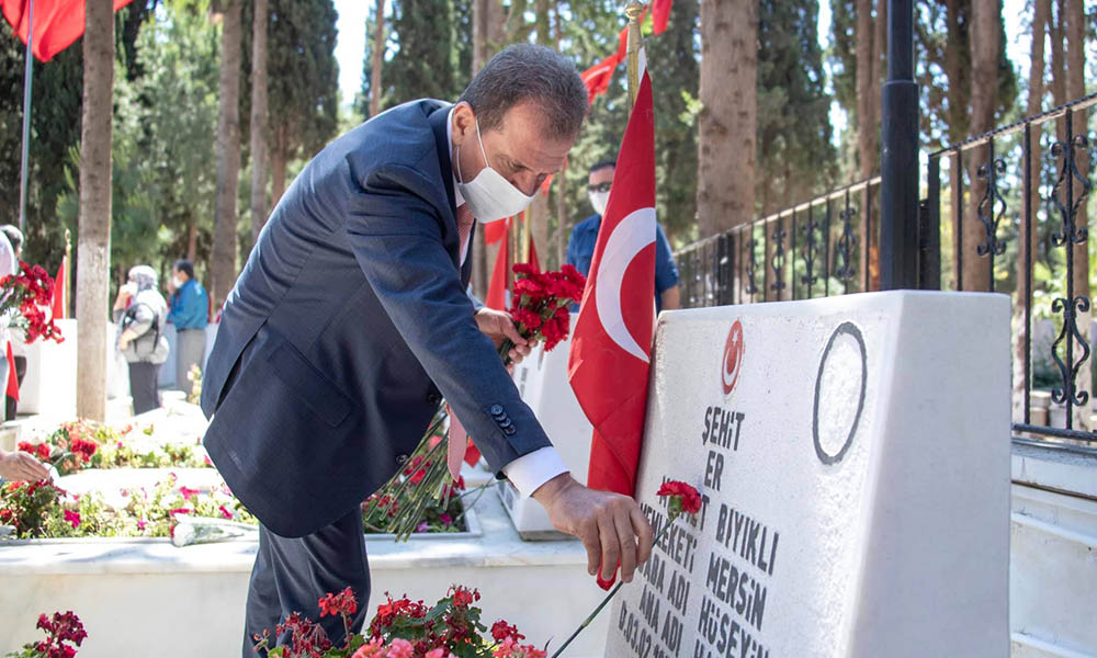 Başkan Seçer'den şehit ailesine bayram ziyareti