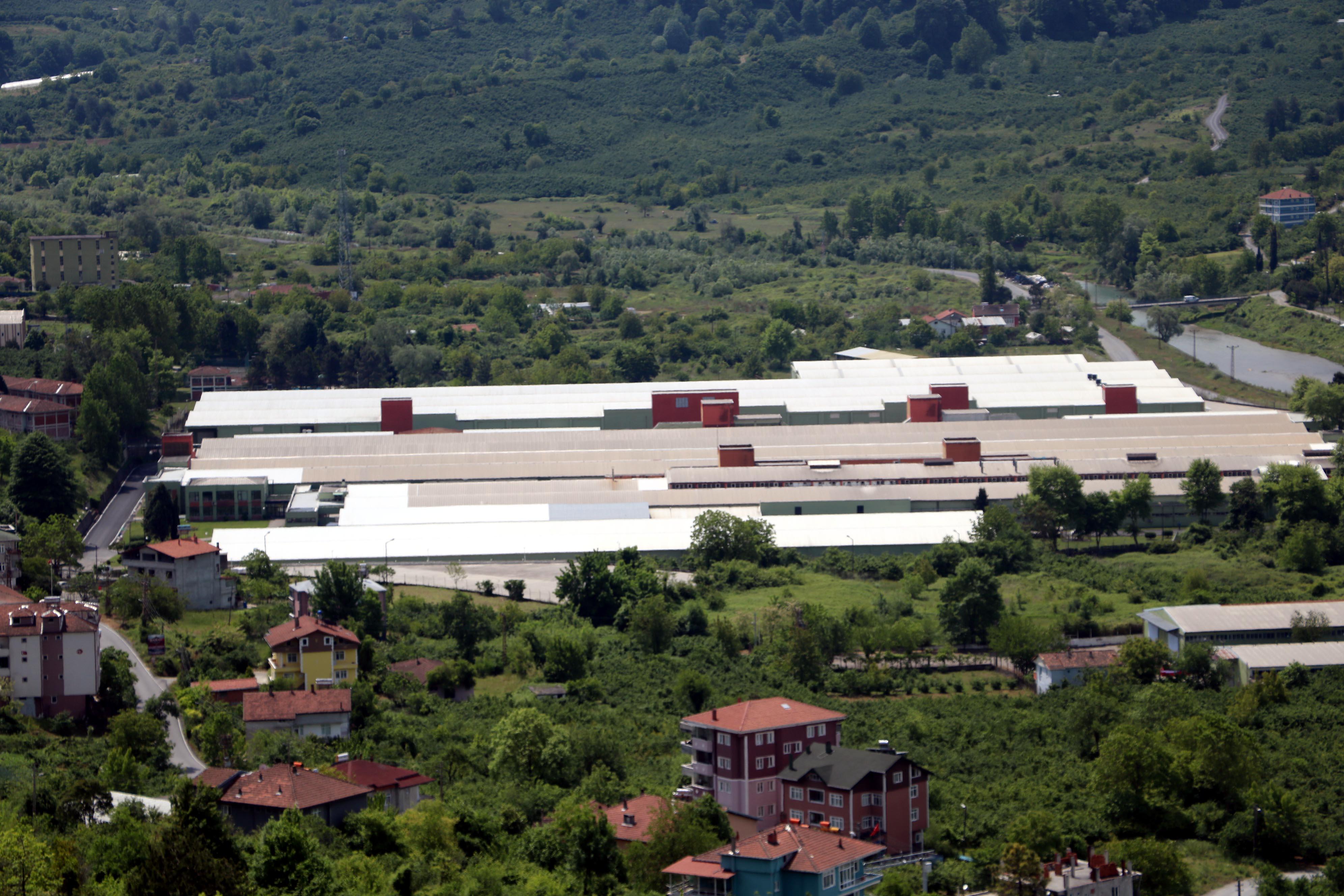 Zongulda'taki iplik fabrikasında koronavirüs testi pozitif çıkan işçi sayısı 13'e yükseldi