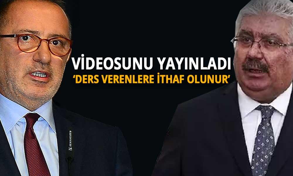Fatih Altaylı'dan kendisini hedef gösteren MHP'li Yalçın'a çok konuşulacak yanıt