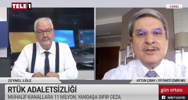 Aytun Çıray: Devlet çatısı çökerse zannetmesinler AKP bu çatının altında kalmayacak
