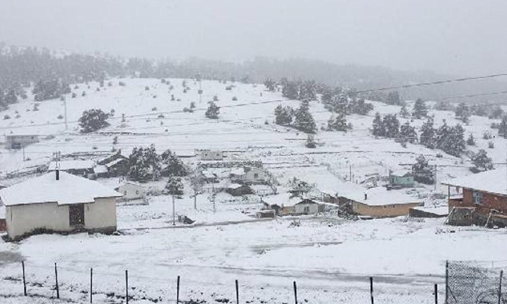 Ankara'ya kar yağdı!