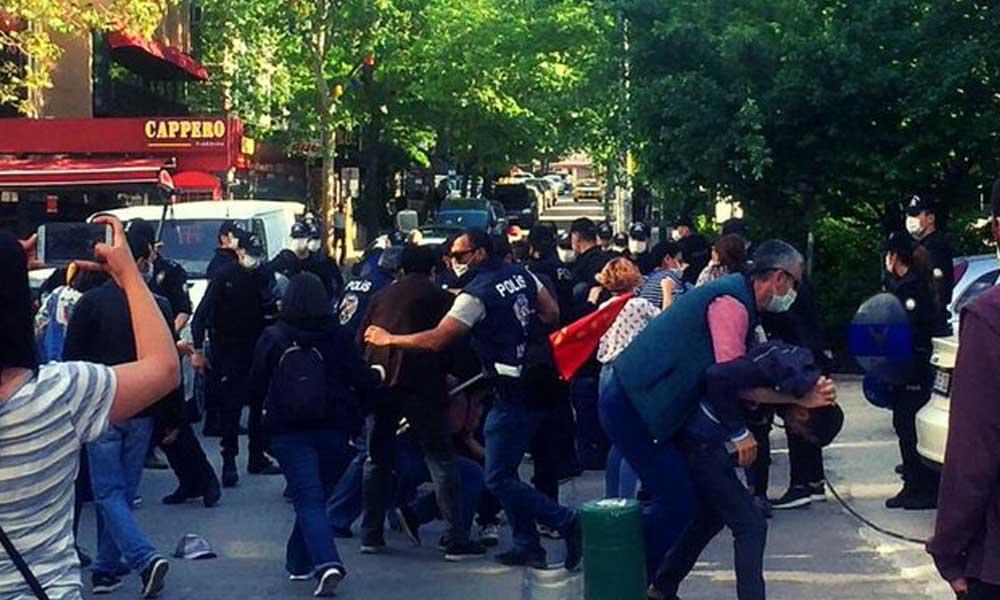 Soma'yı anmak suç: Ankara'da polis müdahalesi