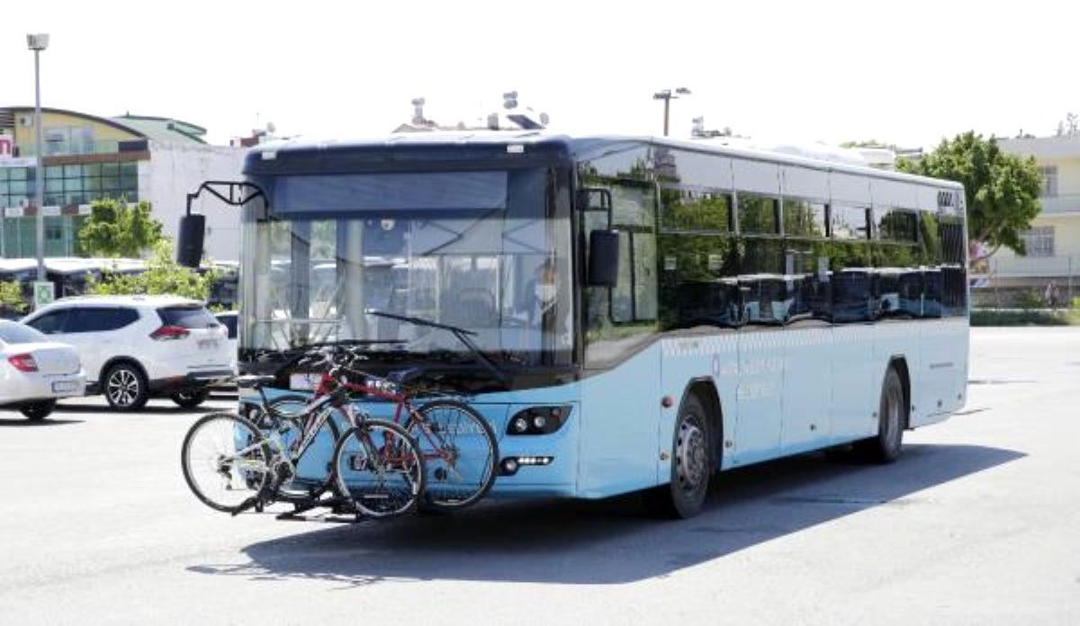 Antalya'da bisikletli yolcu dönemi