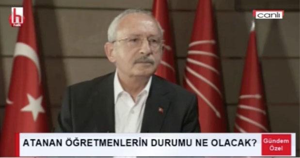 Toktaş, Kılıçdaroğlu'na atanan öğretmenlerin durumunu sordu