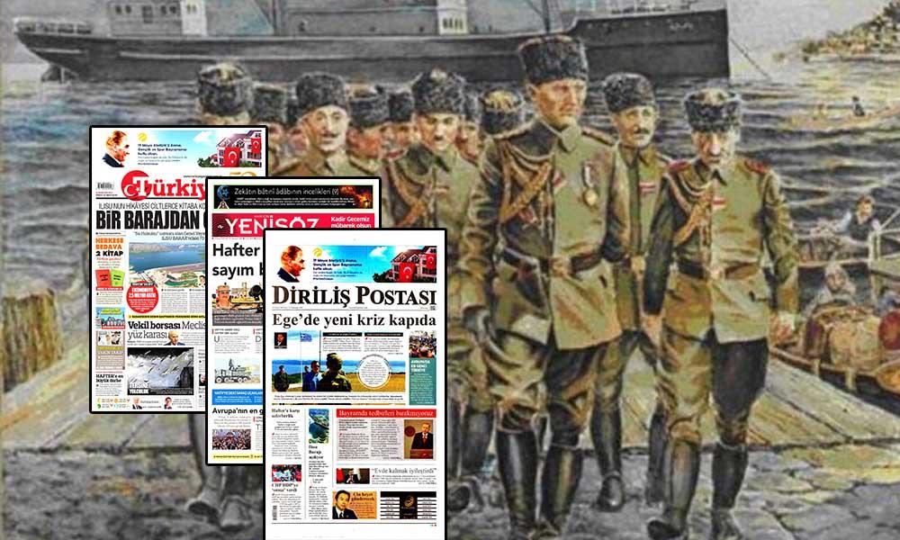 19 Mayıs ve Atatürk'ü sansürlediler